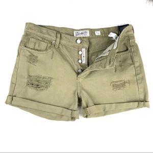 Lucky Brand The Boyfriend Short Retro Wash 8/29